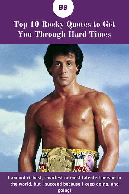 Top 10 Rocky quotes to inspire you