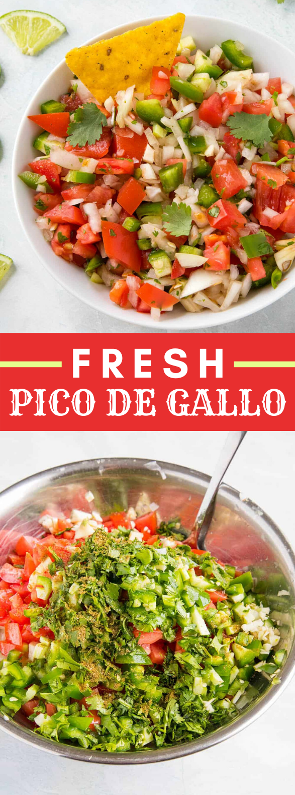 FRESH PICO DE GALLO RECIPE #vegetarian #vegan