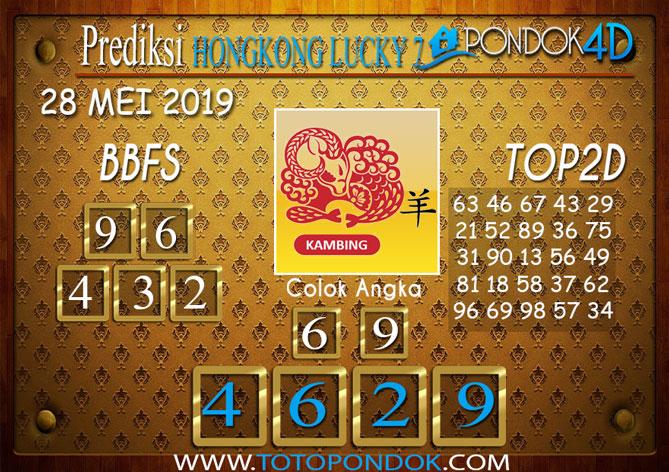 Prediksi Togel HONGKONG LUCKY 7 PONDOK4D 28 MEI 2019