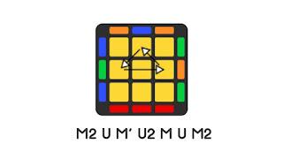 PLL Ua adalah PLL yang paling dasar untuk menyelesaikan rubik cube