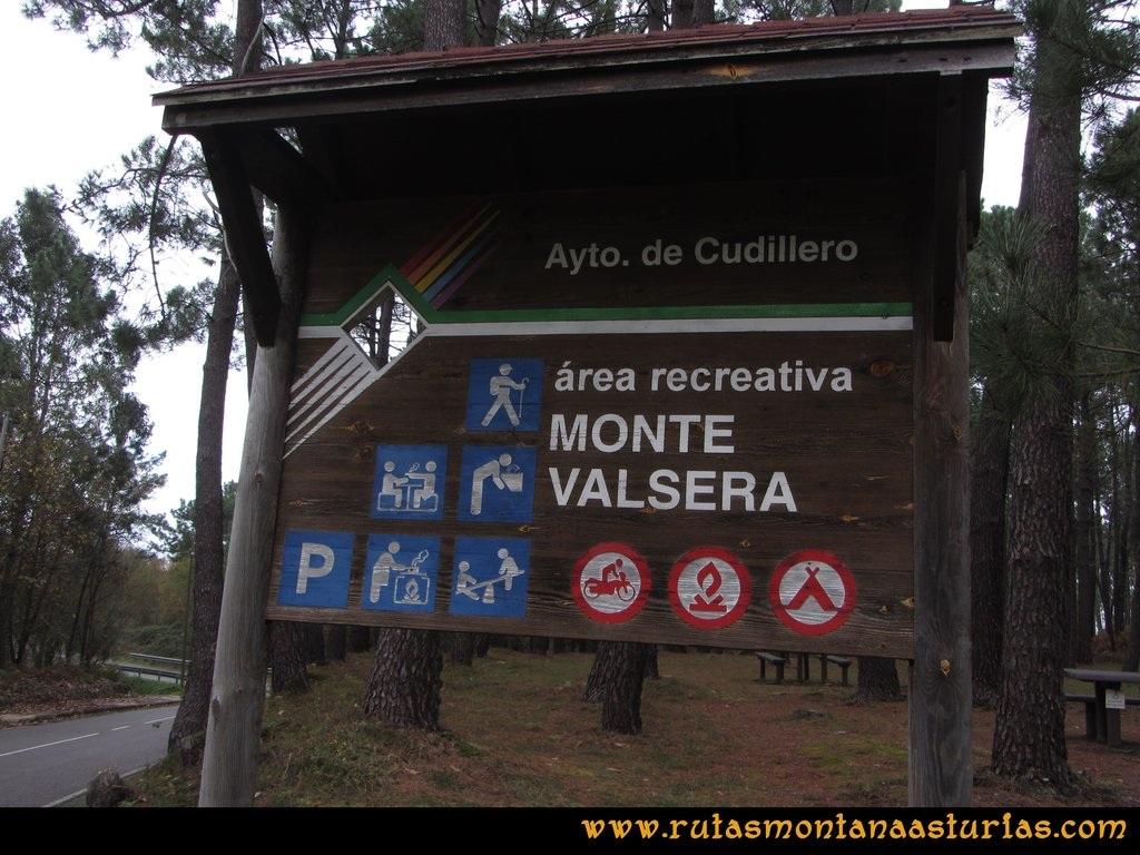 Ruta Artedo, Lamuño, Valsera: Area recreativa de Valsera