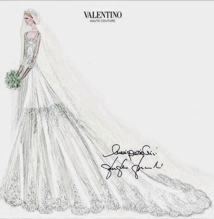 Elisabetta Maria Rosboch Von Wolkenstein's Wedding Dress