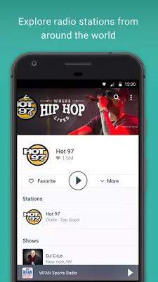 تطبيق TuneIn Radio Pro للاستماع لمحطات الراديو النسخة المدفوعة للأندرويد