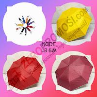 Payung Lipat 3 (L3 6W)