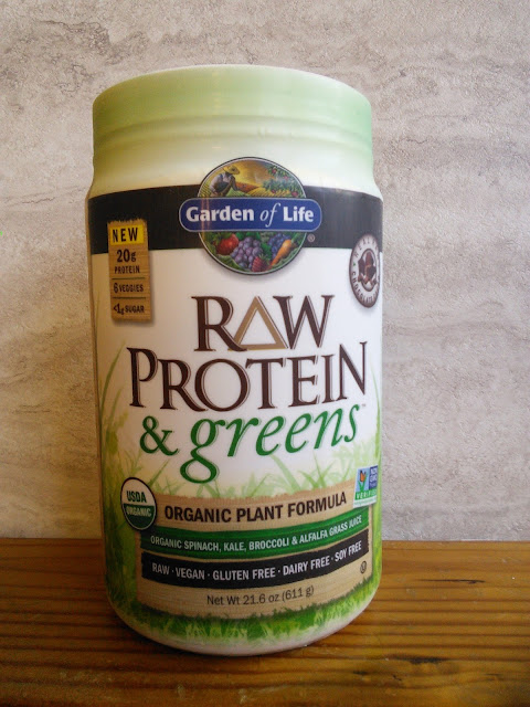 A rafflecopter giveaway for Garden of life raw protein and greens