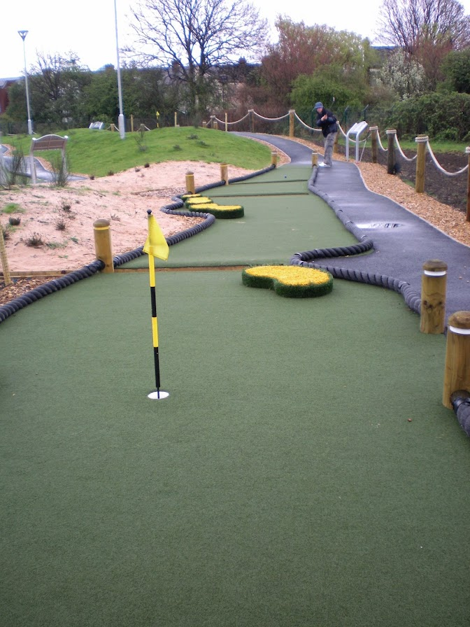 Championship Miniature Golf at the Trafford Golf Centre in Manchester