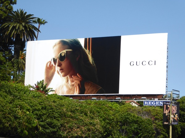 Gucci Eyewear Spring 2016 billboard