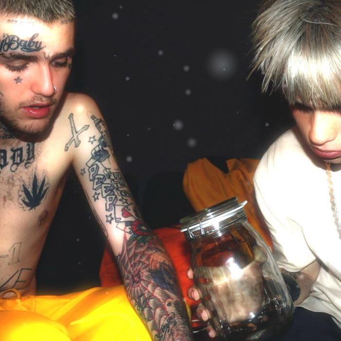 Ps4 Lil Peep Background: LIL PEEP & BEXEY Wallpaper Engine