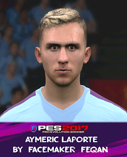 PES 2017 Faces Aymeric Laporte by Feqan