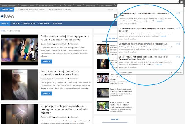 Extensión de Eiveo para su navegador
