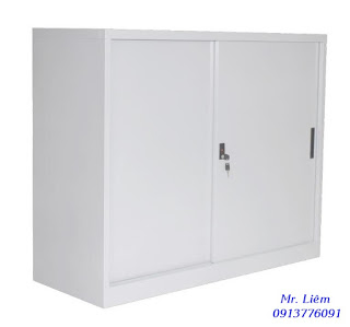 Tủ Sắt Thấp Cửa Lùa Godrej - SLDS1200