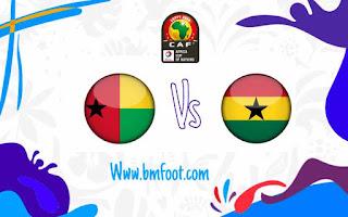 لعبة غانا غينيا بيساو مباشر