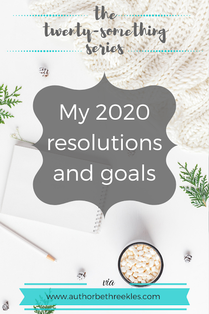 I've set myself a few resolutions and goals for the year ahead - read more about them in this post!