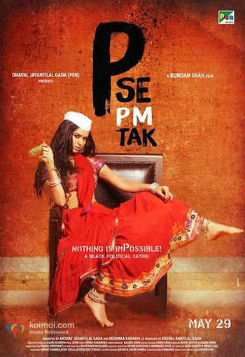 P Se PM Tak (2015) Hindi Movie DVDRip 300MB