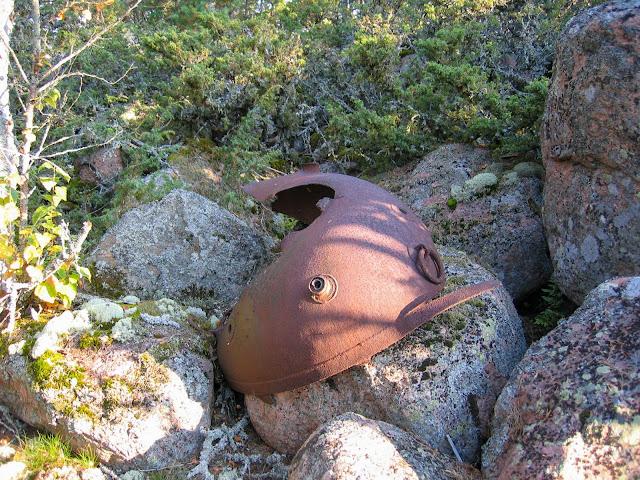 Ruostunut merimiinan kuorenkappale