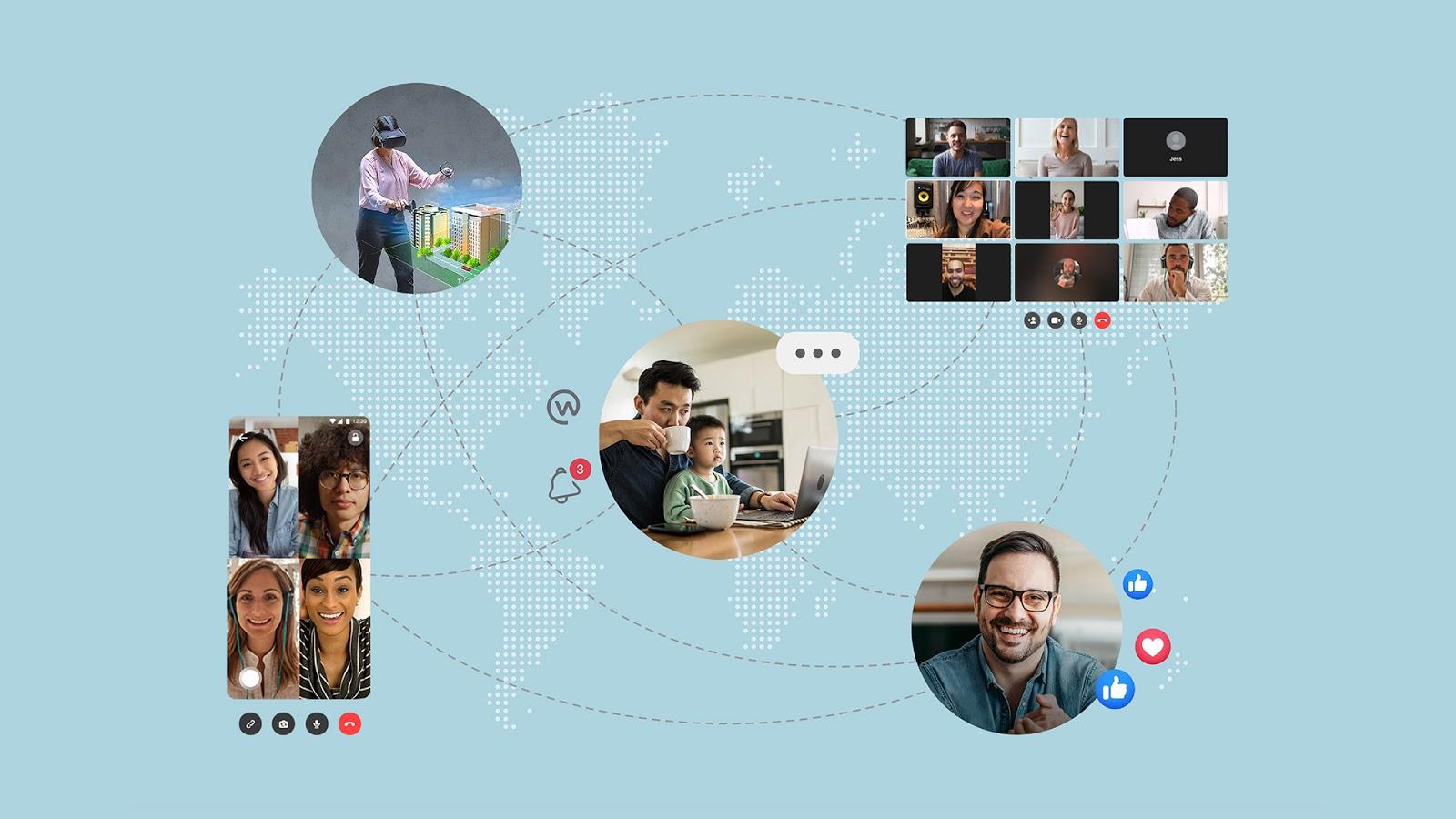 Smart Working e Mixed Reality, il futuro (prossimo) dei dipendenti Facebook