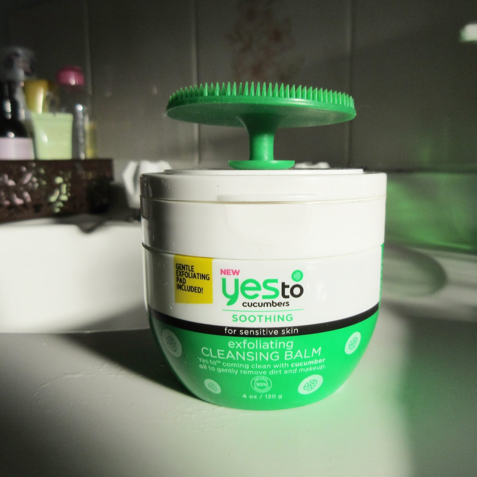 Yes to Cucumbers Exfoliating Cleansing Balm Review