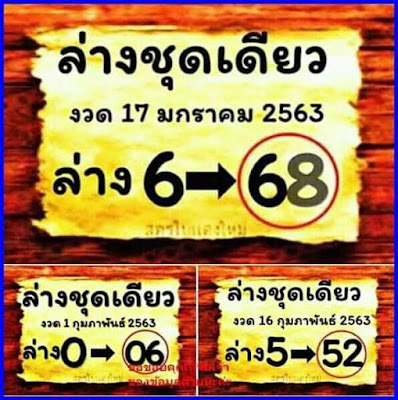 Thailand Lottery 3up Joker Facebook Timeline Blogspot 16 February 2020