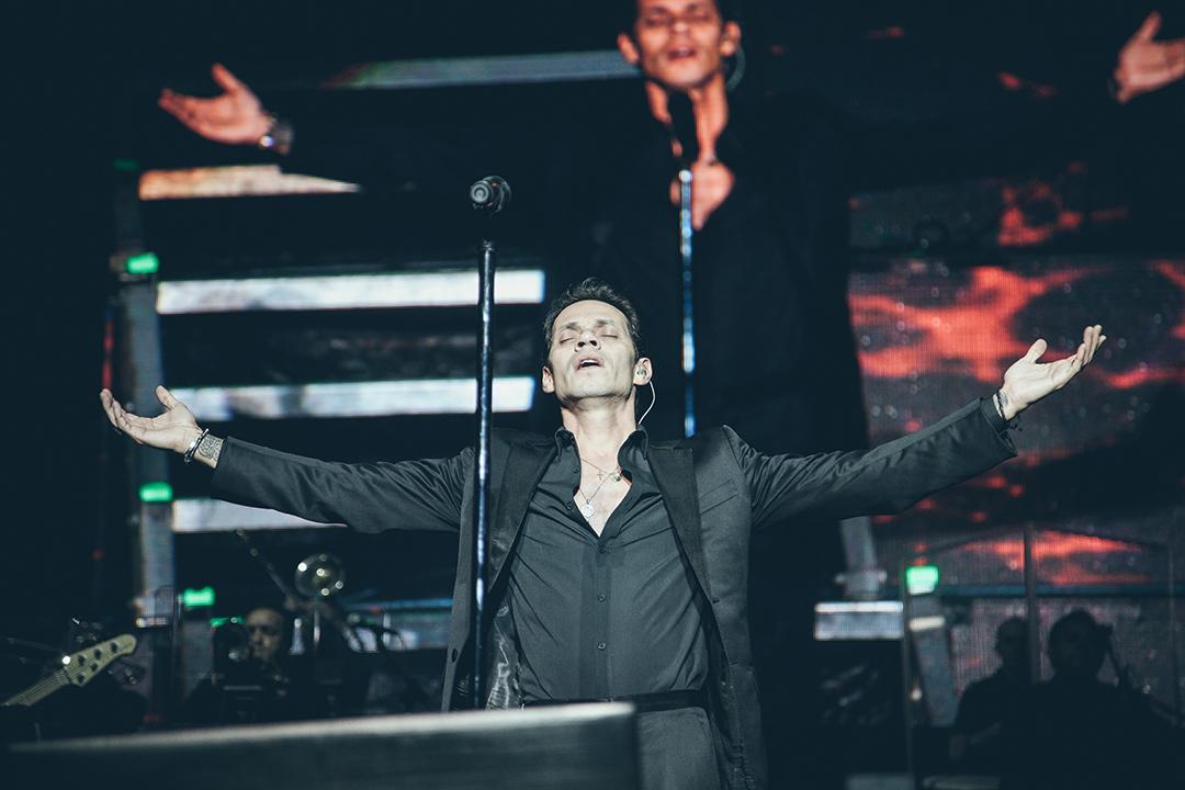 Marc Anthony global concert on April 17