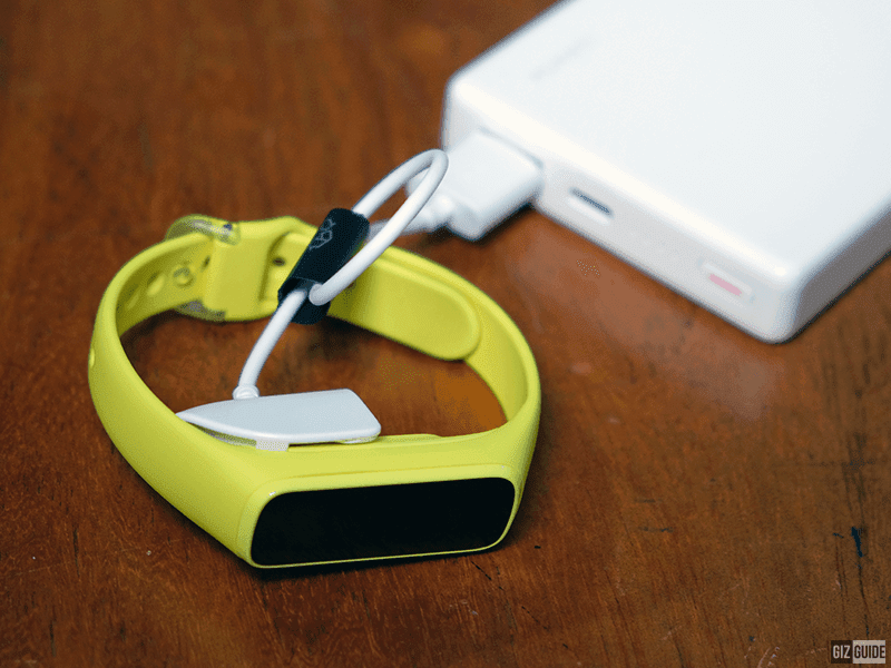 Samsung Galaxy Fit e charging cradle