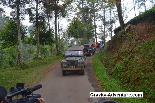 Jalur Offroad Lembang Bandung Utara