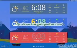 ứng dụng HD Widgets