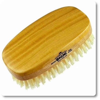 Kent MS23D Finest Men's Military Style Dual Timber Hair Brush