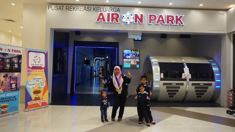 Berseronok dengan anak di Air On Park,Aeon Mall Shah Alam.