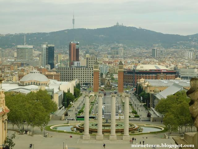 Монжуик, Барселона
