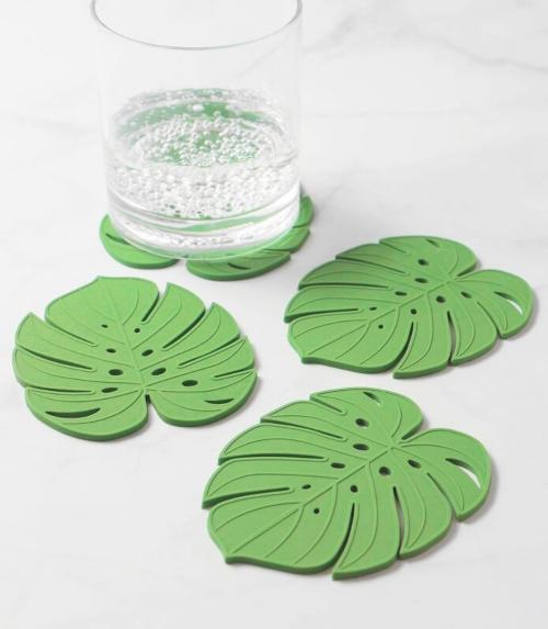 Palm Leaf Coasters