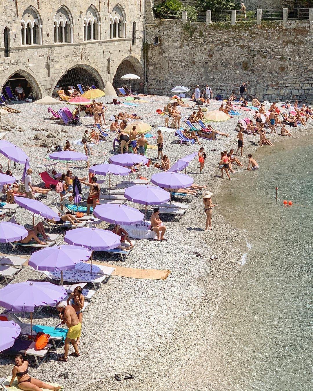 San Fruttuoso, Liguria, Italy