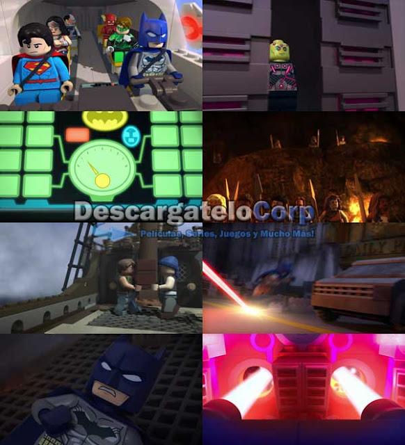 Liga de la Justicia Lego Batalla Cosmica DVDRip Latino