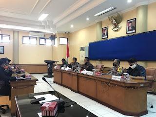 Rapat Rencana Relaksasi Pembatasan Sosial Berskala Besar (PSBB) - Tarakan Info