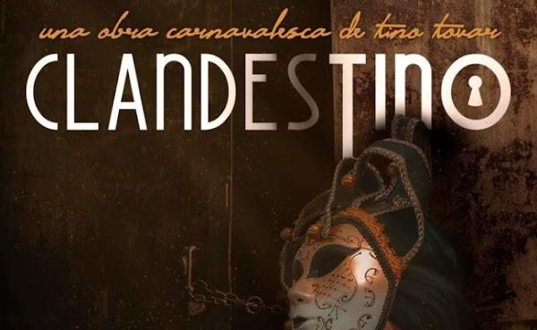 Clandestino, el espectáculo de Tino Tovar, llega al Gran Teatro Falla de Cádiz