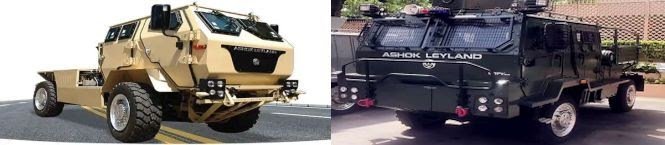 First Lot of Light Bullet Proof Vehicles Adapted From Lockheed Martin's CVNG Delivered To IAF