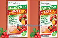 Logo Diventa tester Arkopharma Arkovital Acerola ( 1000 in tutto)