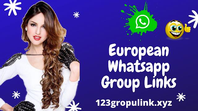 Join 800+ European Whatsapp group link