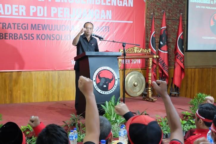 PDI Perjuangan Pusat Gembleng Kader Yogya