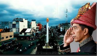 presiden jokowi datang ke kenduri kebangsaan di bireuen
