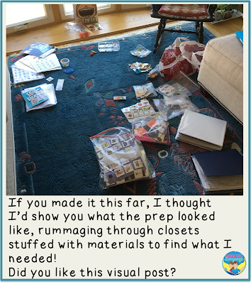 More shoebox play ideas from Looks Like Language!