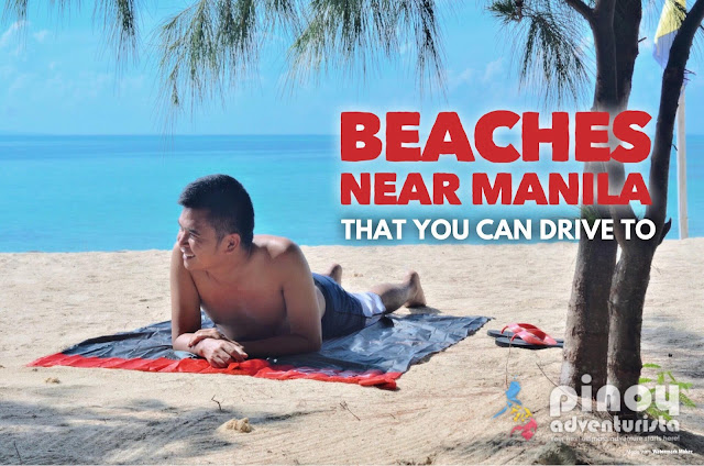 list of top best beaches near Metro Manila