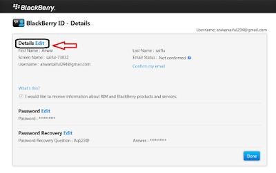 Cara Mengganti Email BBM Di Android