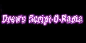 Drew's Script-O-Rama is one of the many websites where you can find screenplays of produced movies.