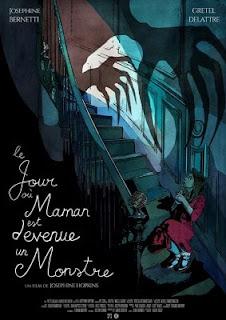 Le jour où maman est devenue un monstre de Joséphine Hopkins affiche