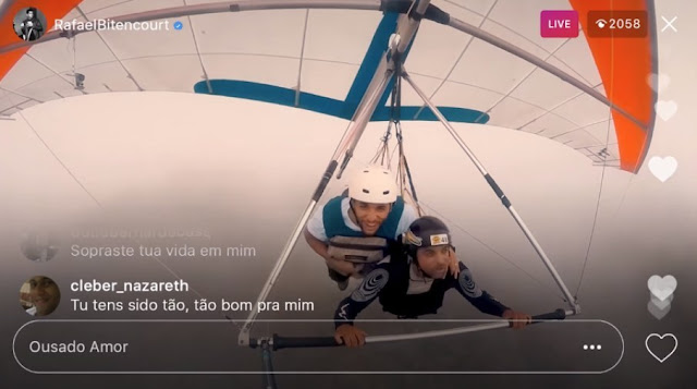 Rafael Bitencourt lança lyric video com versão de 'Ousado Amor'