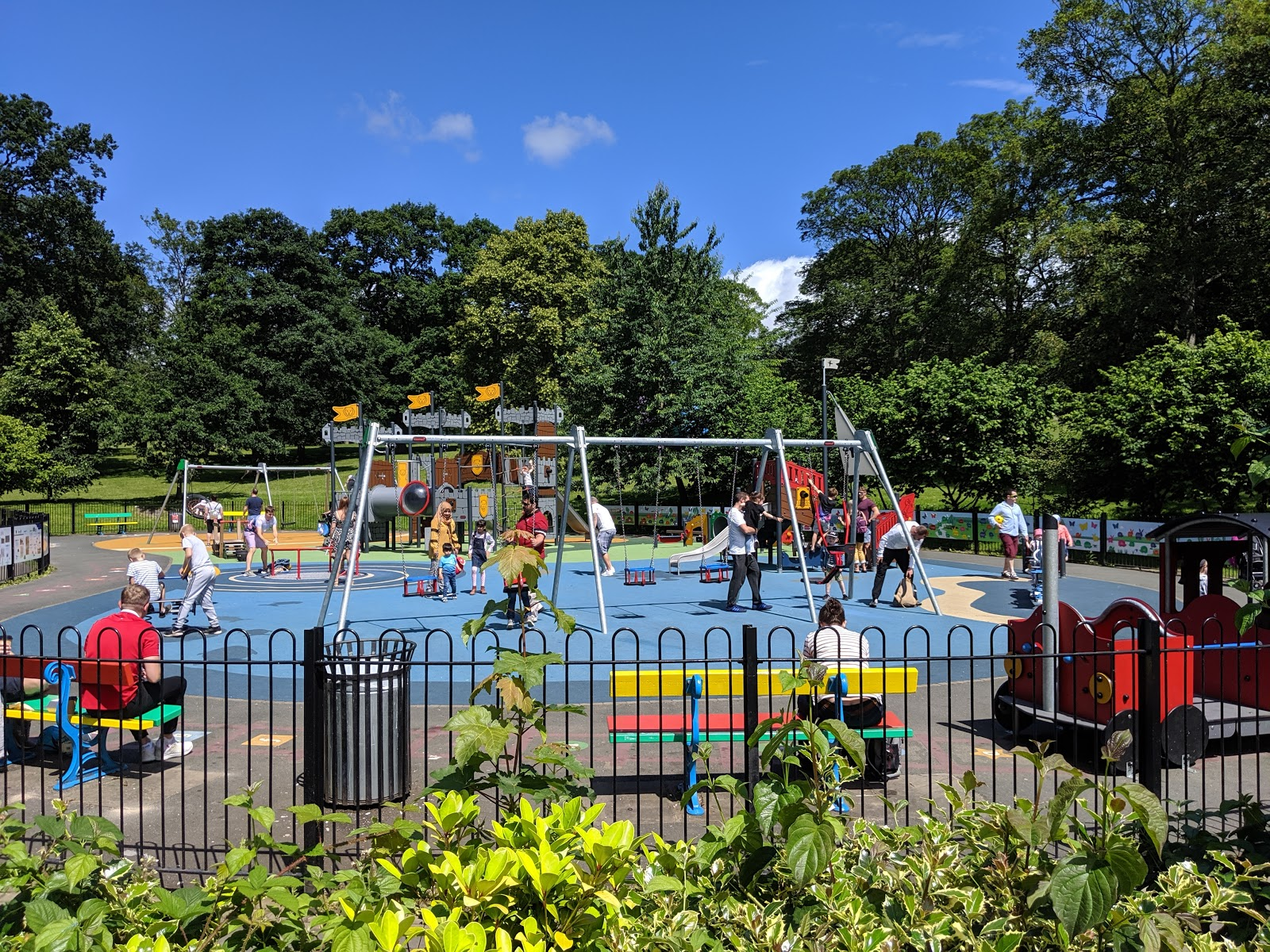 A Short Break in Leeds with Holidays by National Express  - Roundhay Park Playground