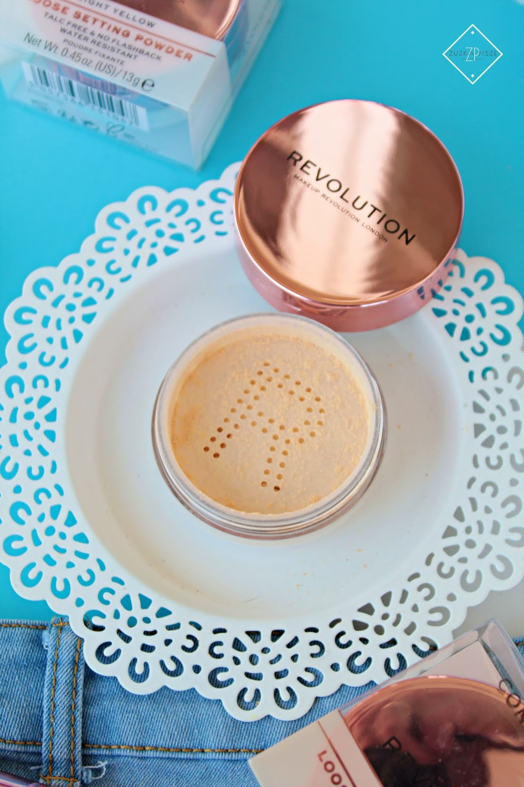 Makeup Revolution Conceal & Fix Loose Setting Powder