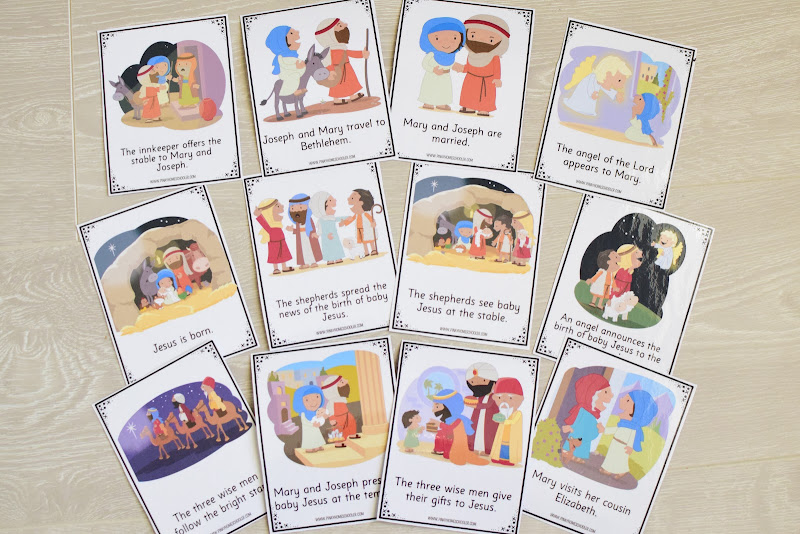 Story Sequencing: READING AND SEQUENCING CARDS