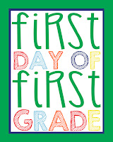 First Grade Printable