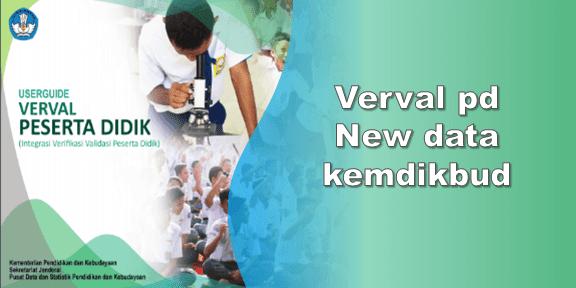 Verval pd new data kemdikbud